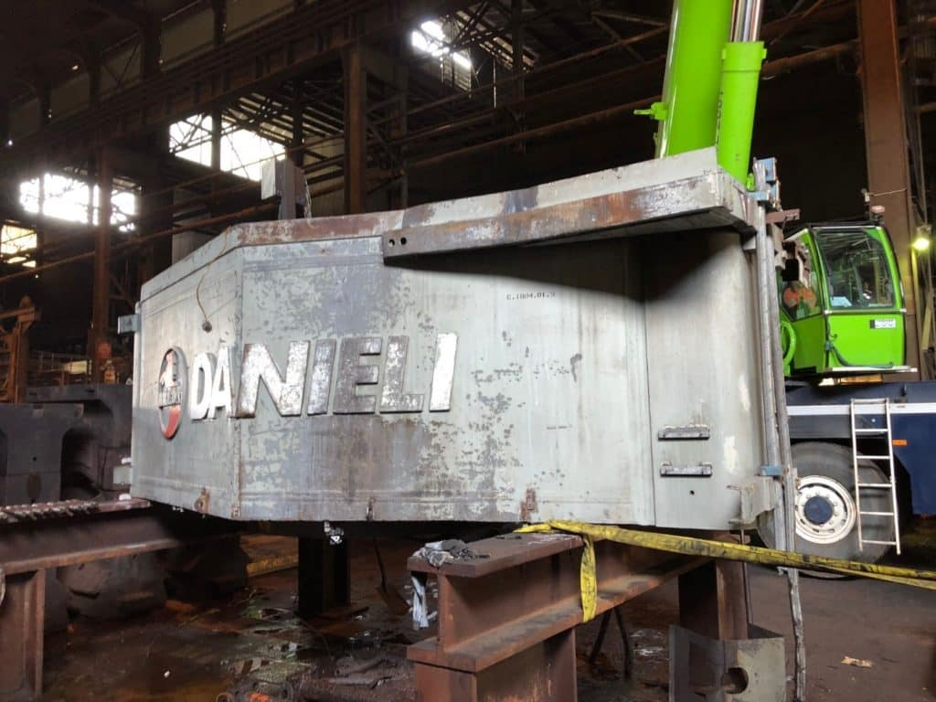 250T Press to India Project -
